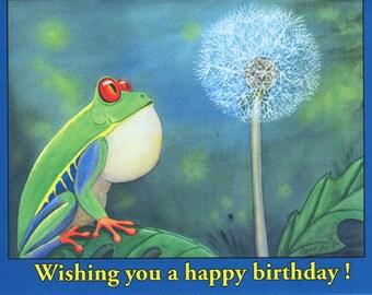 Birthday card- The Wish