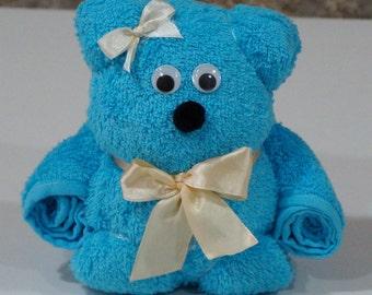 Tummy Bear Origami - Hand Towel