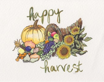 Happy Harvest Print