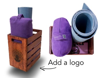 Yoga Storage Crate - Organizer for your Yoga Gear