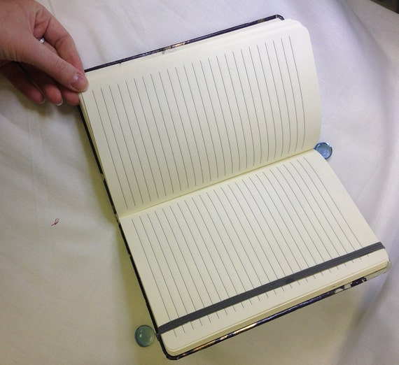 Notebook, Painthand notebook, unique diary, exclusive exercise book