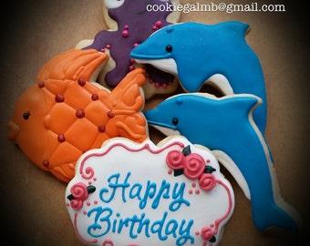 Ocean Theme Cookies