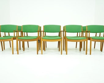 306-079 SALE! Danish Mid Century Modern Oak Arm Chair by Poul Volther (10)