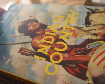 Indian Country  vintage book - by Dorothy M. Johnson- vintage paperback-
