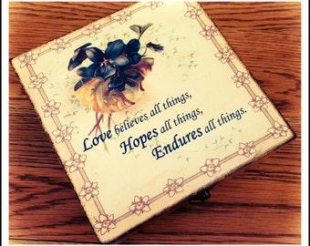 Beautiful Handmade Decorated Gift Box