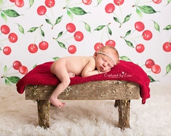 Cherry Pickin - Wrinkle Free Fabric & Poly Paper Backdrops