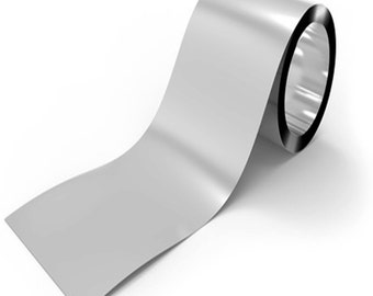 1 x metre of 0.3mm Aluminium 20mm 30mm 50mm 100mm or 200mm widths available