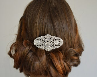 Vintage Hair Comb, Bridal Hair Comb,  Bridal Vintage Headpiece, Gold Vintage Hair Comb, Vintage Wedding