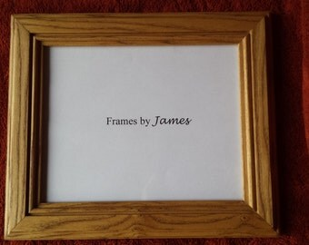 Handcrafted Hickory Picture Frame