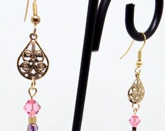 beautiful dangle earings