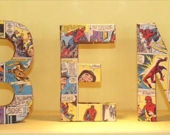 "12"" Comic Letters- Custom Made"