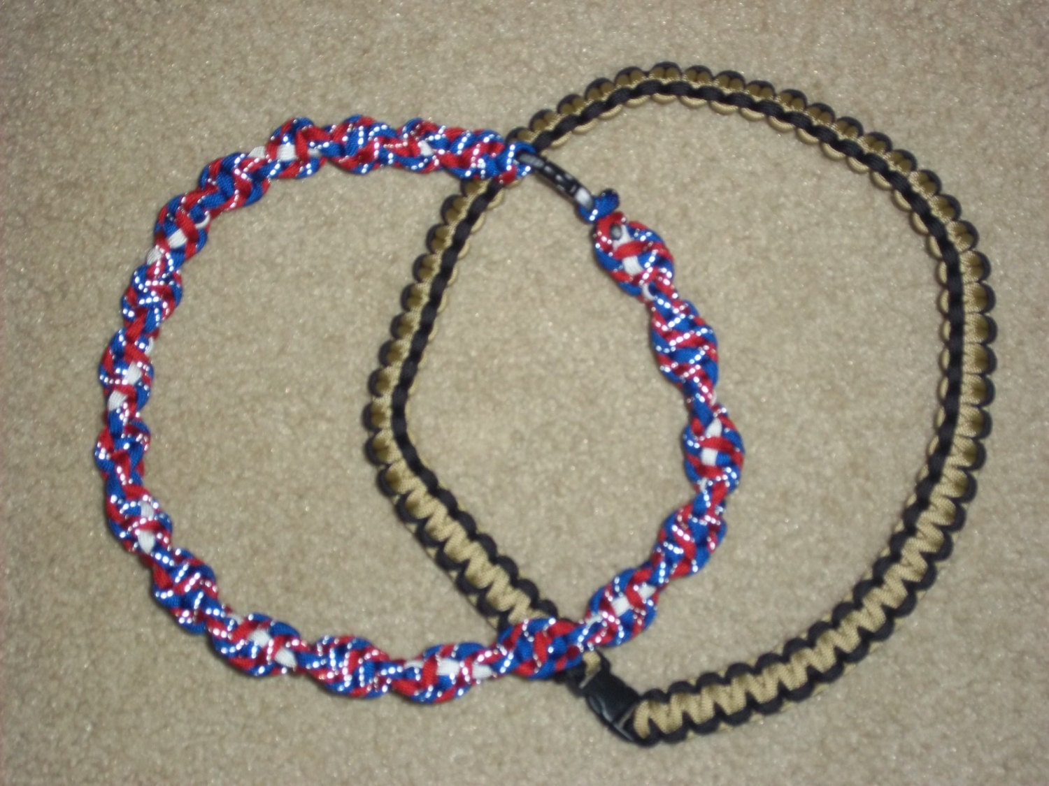 paracord survival necklace by paracordingbytrevor on etsy