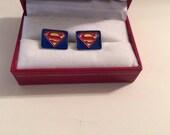 DC Superman Cufflink