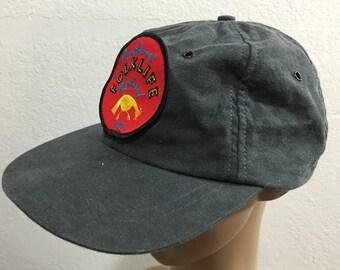 vintage newyork hat snap back baseball cap cotton made in usa
