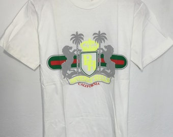 90's california beverly hills soulenir t shirt 100% cotton size small