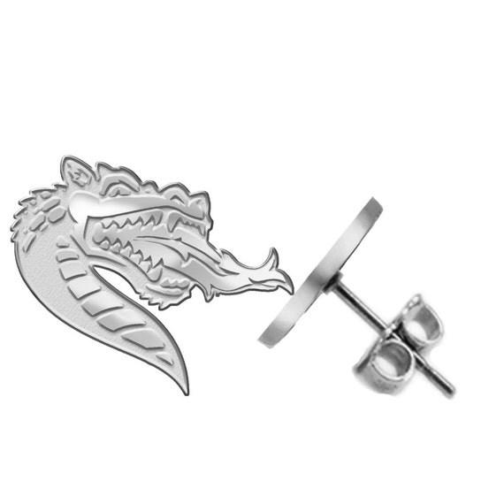 Alabama birmingham uab blazers logo stud earrings available for Sell jewelry birmingham al