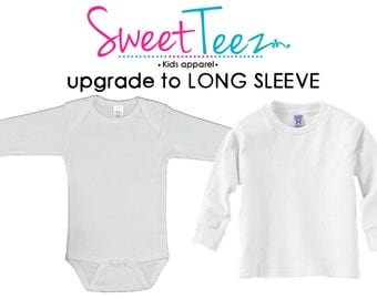UPGRADE to long sleeve