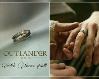 Outlander sterling silver ring original