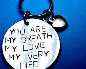 Anniversary, Valentines day, Boyfriend gift, Girlfriend gift, christmas gift, Husbands gift, Fiancee,gift for him, gift for her,hand stamped