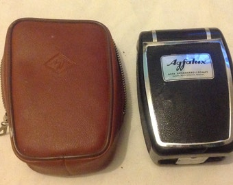 Agfaflux  vintage flash gun with original case