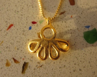 Gold-Plated Droplet necklace
