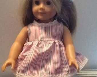 """18"""" American Girl doll top and bloomers"""