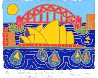 """Sydney Opera House and Harbour Bridge"""""""