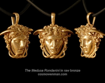 The Medusa Rondanini necklace pendant