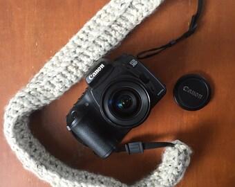 Knit Camera Strap Cover