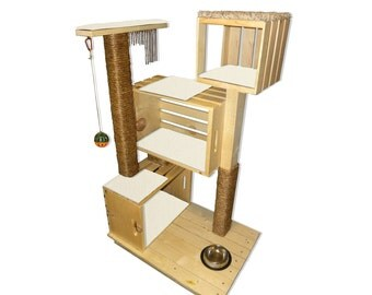 Modern Cat Condo - Colors