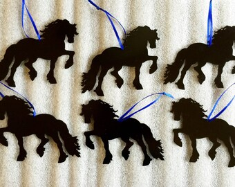 12 Friesian ornaments for 50.00