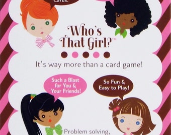Who's That Girl? Card Game