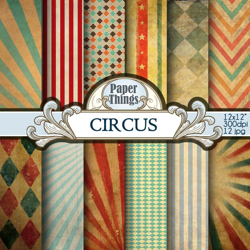 circus patterns printable - photo #38