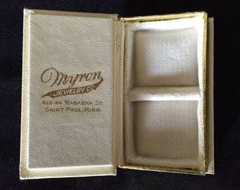 Vintage Myron Jewelry gift box