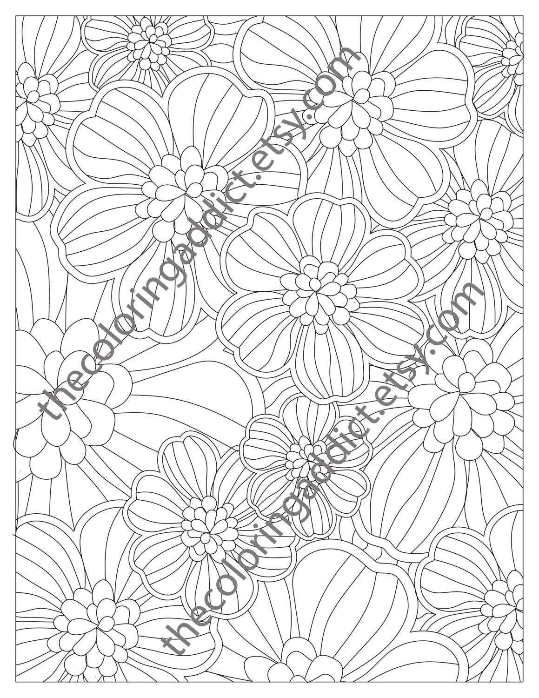 retro coloring book colouring sheets digital colouring