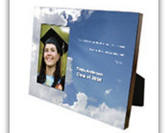 Graduation Photo Frame with Name & Year