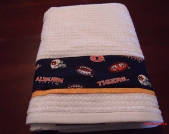 Auburn towel | Etsy
