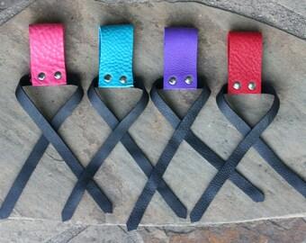 Flogger Belt Tie Holster, Leather
