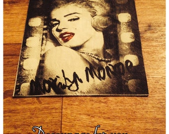 Marilyn Monroe Paper napkin