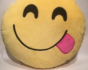 Emoji pillow delicious!!