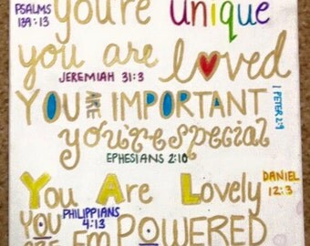 Bible Verses Canvas