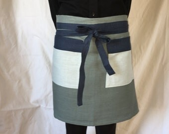"Linen Apron - ""The  Leah"""
