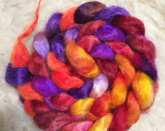Reserved, please do not purchase-Madly in Love-Hand-Dyed Wensleydale