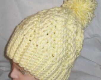 Crochet Hat - Tam - Handmade Hat