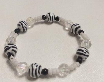 Item #005 Zebra Bracelet