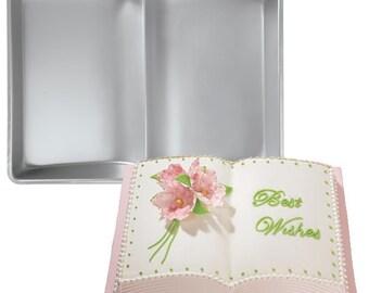 Mold Baking Cake Bakeware Aluminum Book Cake