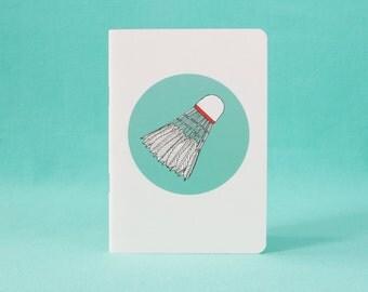 Notebook - badminton - A6