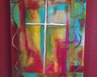 Painted Cross #2