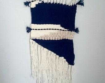 Wall weaving BLUE MONDAY