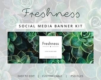 Social Media - Freshness | Marketing Kit